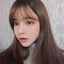 Image result for see through bangs instagram