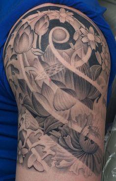 tattoo flor de lótus - Pesquisa Google
