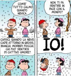 Lucy Van Pelt, Snoopy, Peanuts Gang, Charlie Brown, Humor, Comics, Gif, Friends, Snow