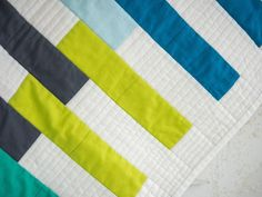 Some simple strip piecing is all it takes with this pre-cut friendly quilt!