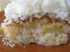 Receita Sobremesa : Bolo de côco de Nomartins