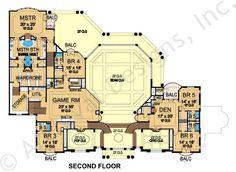 Valesko House Plan - Second Floor Plan