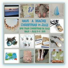 Don't miss the SPS Team Christmas in  July Sale ~ July 5-11  Many great deals from shops all over the world!