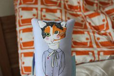 Pillow Calico Kate by MsSpanner on Etsy, £12.00