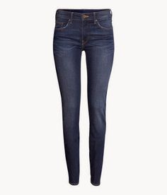 My Crafty Collections: Bargain Bin - 50% Off Select Items at Hollister and H&M - Skinny jeans are only $14.95 - available in dark denim or nearly black.