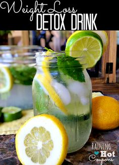 Weight Loss Detox Drink Recipe - Raining Hot Coupons