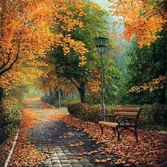"October gave a party; The leaves by hundreds came,— The Ashes, Oaks, and Maples, And leaves of every name. The sunshine spread a carpet, And every thing was grand; Miss Weather led the dancing; Professor Wind, the band.... The sight was like a rainbow New-fallen from the sky.... ~George Cooper, ""October's Party"""