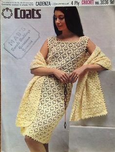 1960s Crochet Pattern