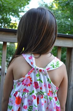 Racerback Summer Dress Part 2 - Binding with Knit
