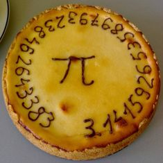 Pi Day @ Wikipedia, the free encyclopedia. Pi Day is an annual celebration commemorating the mathematical constant π (pi). Pi Day is observed on March 14 (or in month/day date format), since Numero Pi, Pi Pie, Math Major, Happy Pi Day, Paleo, Cupcakes, Bite Size, Sweet Treats, Food And Drink