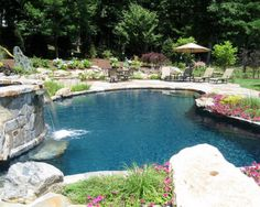 Pool And Patio Decorating Ideas On A Budget | ... Patio , Natural Garden
