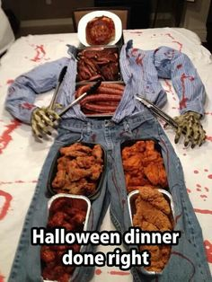 Great idea but still very, very creepy. Not sure if my kid would eat from this. Lol