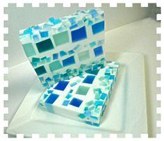 Artisan Soap Mosaics  Exclusive Design by Kokolele