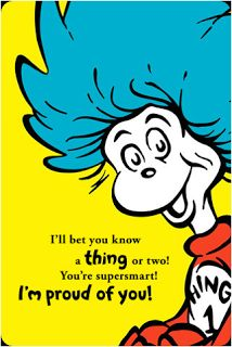 """check out this Dr. Seuss Pinterest board for craft ideas, learning packs and more"""""""