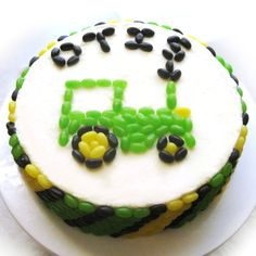 simple tractor cakes - Google Search