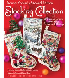 Donna Kooler shares 14 more of her favorite cross stitch stocking designs in this sequel to her popular Ultimate Stocking Collection. Chosen from the many designs created by the talented team of artis