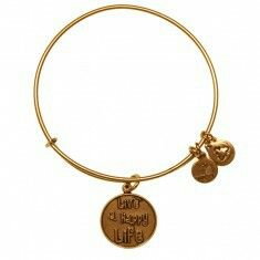 """""""Live happy life """" by Alex and ani"""