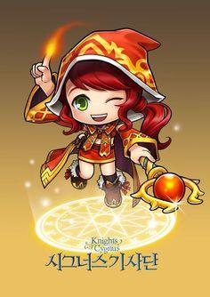 ✧ #characterconcepts ✧ Maplestory-Blaze Wizard