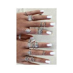 Jewels: sterling silver rings amethyst rings silver silver midi rings... ❤ liked on Polyvore featuring jewelry, rings, silver midi rings, boho rings, mid finger rings, boho silver rings and purple ring