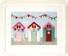 Jenny Arnott Textiles: Beach Huts and Bunting