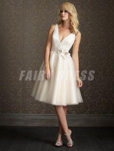 robe de mariée courte partagé sur ZimageZ par fairydress
