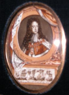King William III (after George Vertue after Sir Godfrey Kneller) King William, William And Mary, Defender Of The Faith, Queen Of England, Defenders, Love Story, Scotland, Ireland, France