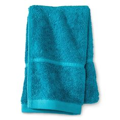 Botanic Solid Hand Towel Monte Carlo Turquoise - Threshold