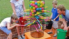 15 wonderful games to play with your kids the whole summer Giant Yard Games, Backyard Games, Backyard Bbq, Outdoor Games, Outdoor Fun, Fun Games, Games For Kids, Fun Activities, Games To Play