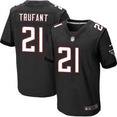 Nike Elite Desmond Trufant Black Men's Jersey - Atlanta Falcons #21 NFL Alternate