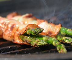 bacon wrapped asparagus no carb recipe