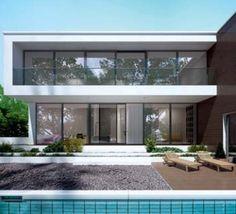 Ciepły i bezpieczny dom z ABM Jędraszek Garage Doors, Places To Visit, Skyline, Windows, Outdoor Decor, Home Decor, Projects, Ideas, Log Projects