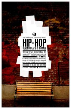 poster / HIP-HOP: Beyond Beats and Rhymes