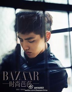 Kris (Wu Yi Fan) is stunning in the October issue of China's 'Harper's Bazaar'