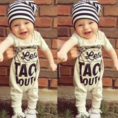 Newborn Infant Baby Boys Girls Kids Romper Jumpsuit Cotton Short Sleeve Clothes  #Unbranded #Romper #DressyEverydayHoliday