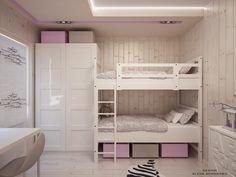 Комната для двух девочек