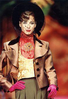 Christy, Christian Lacroix Haute Couture 1991