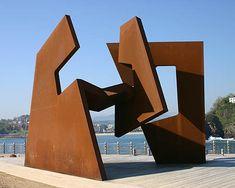 #art #sculpture Caja Vacia, Jorge #Oteiza