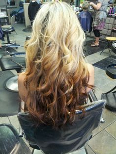 Reverse ombre :)