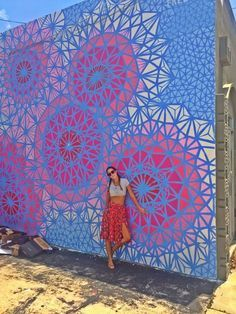 The Wynwood Walls. The place is located just a few minutes away from Downtown Miami and there's no way that you're not going to be amazed with all the drawings, graffiti and other street art.