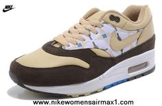 Nike Air Max 1 87 Womens Shoes Fashion Beige For Sale