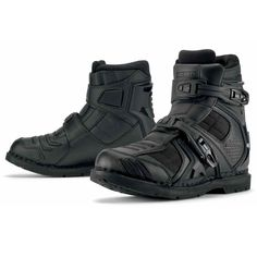 Icon Field Armour 2 Motorcycle Boots Black - Ministry Of Bikes