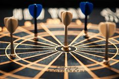 - Dart board in my son's room.    ODC2: Divided  Nikon D700 & 105mm lens