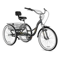 Northwoods 24 in. Rockpoint Tricycle Bike - 52444