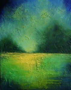 Impressionistic Landscape, abstract landscape, original landscape paintings, serene, peaceful, impressionistic art, abstract art