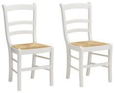 Stuhl, Home affaire (2 Stck.) Dieser Stuhl von Home affaire mit seiner trendigen Retro-Optik verleiht jedem Wohn- oder Essbereich ein heimeliges Ambiente. Er ist im 2-er-Set verfügbar. Der Stuhl hat einen Reisstroh-Sitz sowie ein leicht geschwungenes Rahmengestell aus FSC®-zertifizierter Buche. Das Gestell und die Stuhlbeine des Sitzmöbels sind lackiert und in verschiedenen Farbtönen erhältlich, die mit dem natürlichen Material des Stuhlgeflechts kontrastieren.
