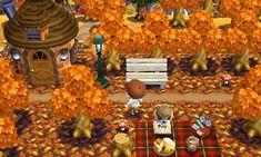 Animal Crossing QR Code blog Fall Pattern Set Ref. PIC.<---