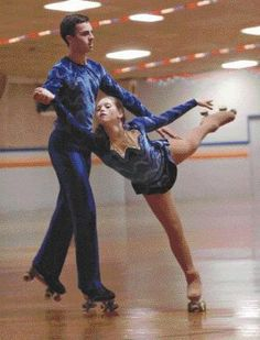SKATE~Couples Roller Figure Skating