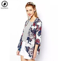 2017 New Hot Summer Casual Women Tops Jacket Autumn Spring Flower Jacket Floral Outwear Female Coat  Kimono Outwear     Tag a friend who would love this!     FREE Shipping Worldwide     Get it here ---> http://www.pujafashion.com/2017-new-hot-summer-casual-women-tops-jacket-autumn-spring-flower-jacket-floral-outwear-female-coat-kimono-outwear/