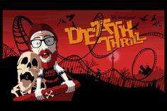 "Illustration work for ""Why Horror"" documentary. www.bofagroup.com Breath Of Fresh Air, Documentary, Breathe, Horror, Illustration, Fictional Characters, Design, Art, Craft Art"