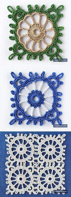 MyPicot | Free Crochet Stitch Patterns // Вера Жилина